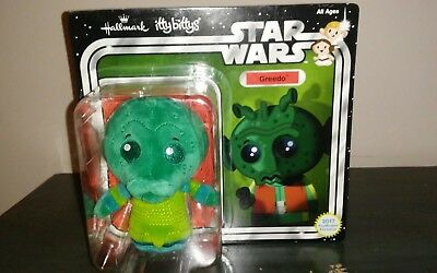 Greedo Itty Bittys Hallmark Star Wars Plush In Sealed Pack~Free Shipping In Us~