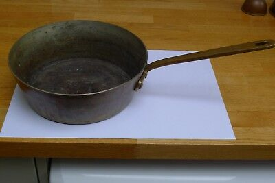 Copper Skillet Pan heavy very good quality