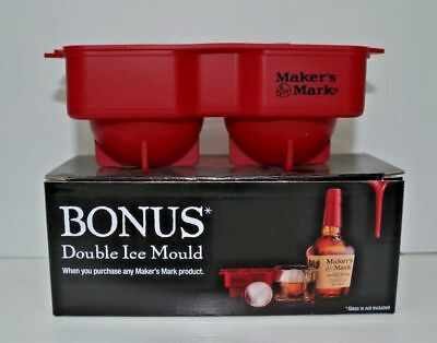makers mark bourbon ice moulds - makes ice balls