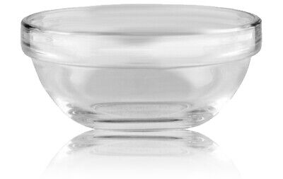 Professional Glass Bowl for Serum Acids Masks 1pc