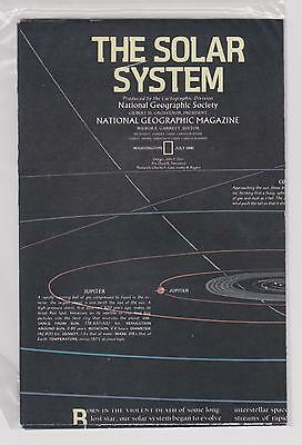 -N.G.S.       1981       Map      THE  SOLAR  SYSTEM              MINT