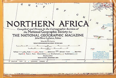 -N.G.S.          1954          Map       NORTHERN  AFRICA            MINT