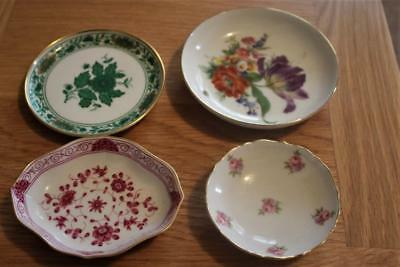 Collection Of Four German Pin / Trinket Dishes Mainly Kaiser Good Condition