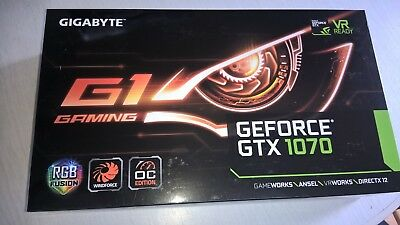 NEU, Gigabyte GeForce GTX 1070 G1 Gaming 8GB GDDR5