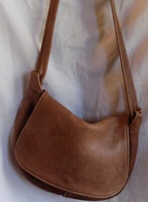 VINTAGE SOFT THICK COWHIDE genuine leather  MESSENGER BAG  flap shoulder bag