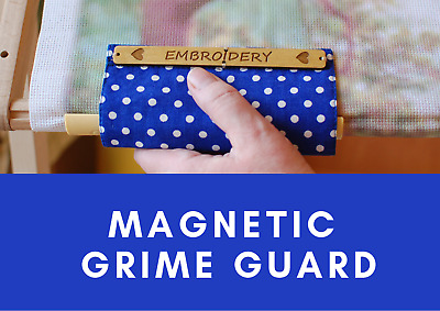 Universal Grime Guard with magnets - Embroidery Magnet Protector Cover for qsnap