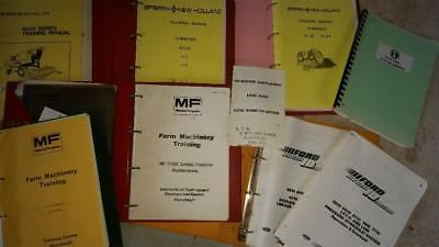 Rare selection of agricultural brochures and operator manuals
