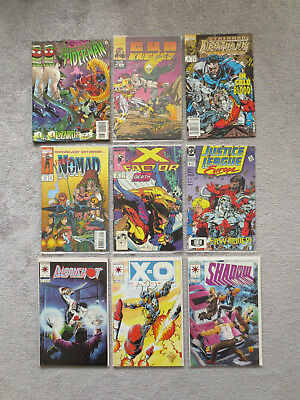 31 Comics Marvel Spiderman x-men Thor Captain America DC