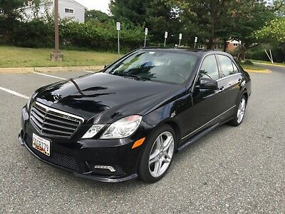 2011 Mercedes-Benz E-Class 4 Door Sedan 2011 Mercedes E550,4Matic,Premium 2 Package, AMG,Loaded with Powers,Low Miles,