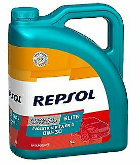 REPSOL 0w30 Elite Evolution Power 2 ACEA C2 PSA B71 2312 PEUGEOT Tanica 5 LT