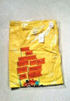 Disney It's A Small World 50th Anniversary T Shirt Limited Edition Brand New!