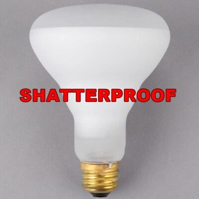 Replacement Light Bulb Shatter Proof Coated 65 Watt R30 Popcorn Machine Clear
