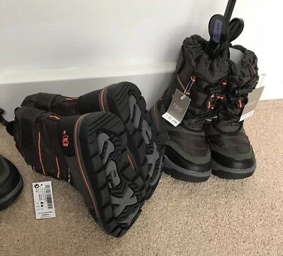 2x Pairs, Next Infant High Kids Boots Brown UK 5 , 6 Job Lot