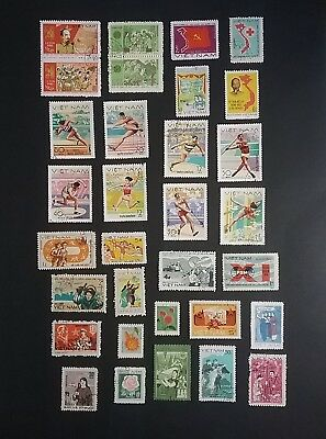 Vietnam 1970's & 80's used stamps