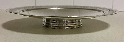 Mappin & Webb Art Deco Silver Plate - KEITH MURRAY Low Tazza Comport Gift