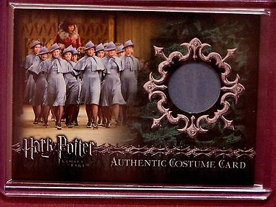 Harry Potter-GOF-Movie-AUTHENTIC-Costume Card-Beauxbaton-Girls-C7