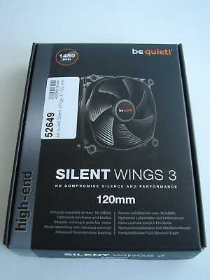 Be Quiet Silent Wings 3 Lüfter 120 mm