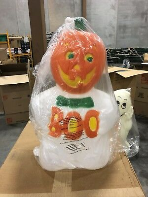 TPI Boo Ghost Jack O Lantern Blow Mold