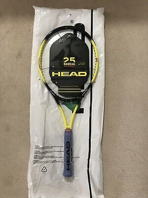 Head Radical OS LTD Tennis Racquet 25 Years Limited Edition Andre Agassi