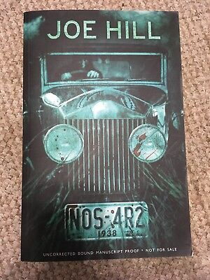 NOS-4R2 By Joe Hill (Uncorected Advance Proof)