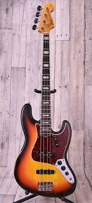 Fender 1966 Jazz Bass -3TS/R- Free Shipping From Japan #B2474