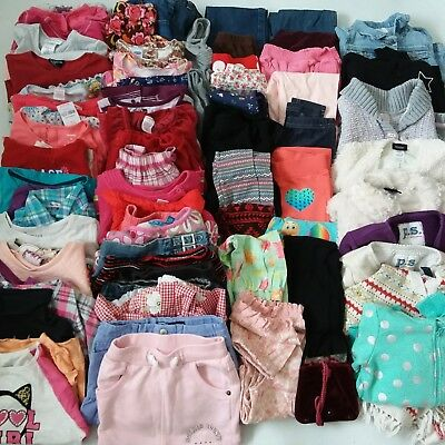 Girls Clothes Lot Size 4 4t 4/5 Huge Lot