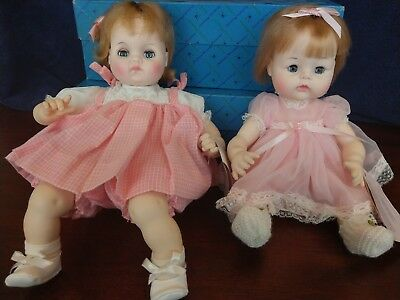 Lot#9 Vintage Madame Alexander Puddin 3935 and Sweet Baby 3631 dolls
