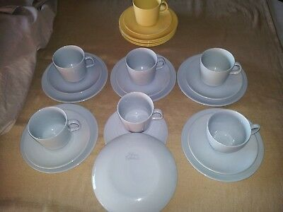 VINTAGE RETRO 50-60's CUP SAUCER SIDE PLATE TRIOS PLUS - JOHNSON OF AUSTRALIA