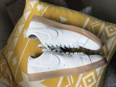 Nike Blazer Womens Sand Suede 6 worn Only Once!