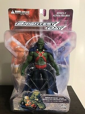 Brightest Day: Martian Manhunter Action Figure Dc Collectibles Direct Oop