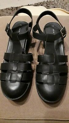 Ladies New Look Size 7 Chunky Shoe Sandal