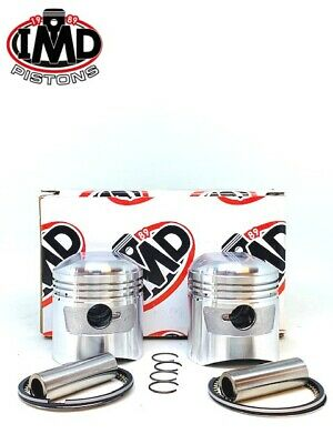 HONDA CB250 K4 G5 +0.50mm PISTON KIT (2) NEW (286 model)