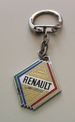 """Porte-Cle Emaille """" Renault """" Motoculture * Automobile / Keychain"""