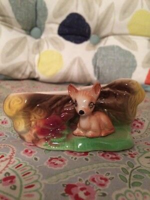 KITSCH 1950/60/70s VINTAGE RETRO FAUNA POTTERY PIECE- EASTGATE WITHERNSEA