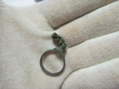Ancient bronze ring-key Rome 2-3 АD № 431/1.