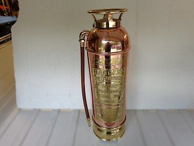 Badgers Brass Based Copper Fire Extinguisher