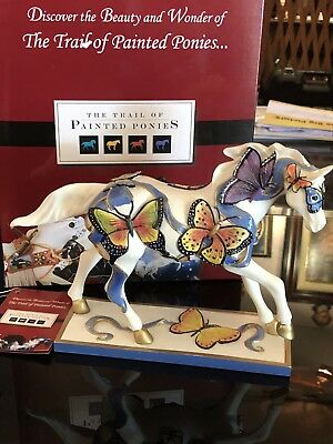 The Trail  Of The Painted Ponies Earth Angels Horse/ Animal Figurine/statue