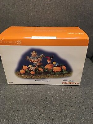 Department 56 Halloween Pick Your Own Pupkin - #56.55244 - With box