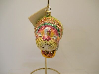 """Patricia Breen~Neiman Marcus On-Line Exclusive~""""plymouth Turkey""""~2006~W/tag!"""