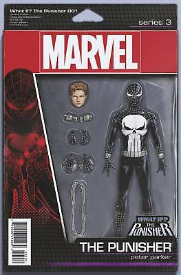 What If? Peter Parker became The Punisher Variant Cover STOCK PHOTO