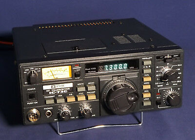 A Very Fine Restored ICOM IC-730 Transceiver W/ Mic and DC Power Cord  Guranteed