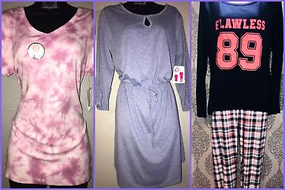 Woman Size Large Misc. Clothes - 2pc. Lounge Set, Tie Dye shirt & Casual Dress