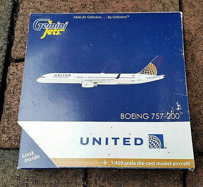 New 2012 Gemini Jets 1:400 United Airlines Boeing 757-200 airliner GJUAL1145