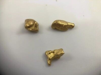 Australia Natural Gold Nugget /nuggets Weight 3.13  Grams