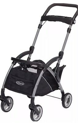 Graco Snugrider Elite Stroller and Car Seat Carrier Frame, Black Click Connect