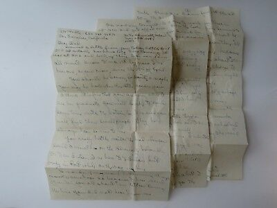 WWII Letter US Colonel 4 Battle Stars Admiralty Island 1st Cavalry Division 9728