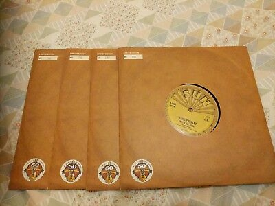 "Elvis Presley That's all right mama Ltd HMV Sun 10"" 4 Copies numbered and rare"