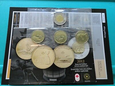 2012 Canada 4 Coin Special Edition Mint Uncirculated PL Set