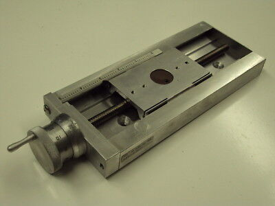 "Velmex Unislide 5"" Graduated Manual Linear Ball Screw Drive Positioner A4009P10"
