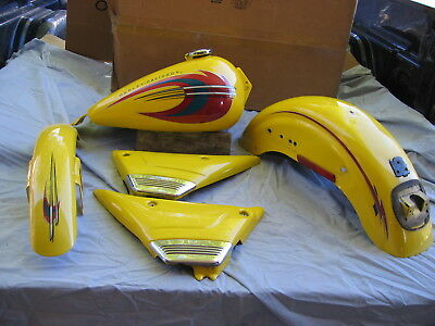 Harley 2000 Fxr4 Gas Tank And Fender Set W Side Covers Fxr 2 3 Low Rider Super G